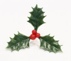 Holly and Berries Cake Topper